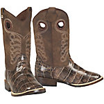 DBL Barrel Boy's Travis Gator Print Boot