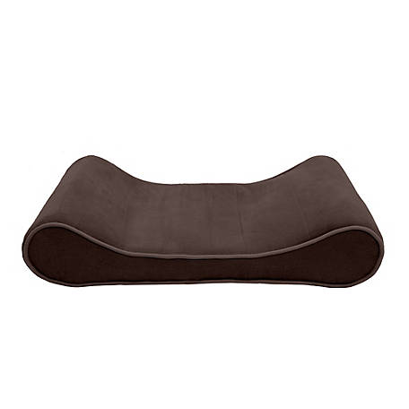 FurHaven Microvelvet Luxe Lounger Orthopedic Pet Bed