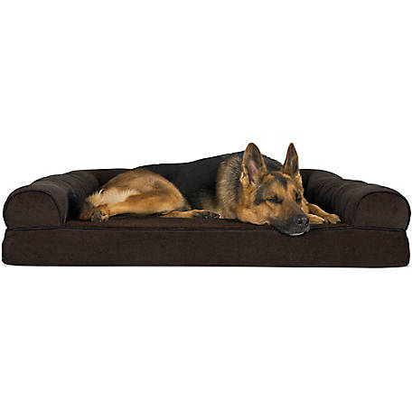 Astonishing Furhaven Faux Fleece Chenille Soft Woven Orthopedic Sofa Pet Bed At Tractor Supply Co Ibusinesslaw Wood Chair Design Ideas Ibusinesslaworg