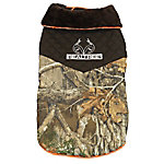Realtree Edge Camo Dog Jacket With Quilted Collar