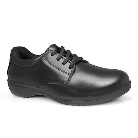 Genuine Grip Women's #420 Slip-Resistant Leather Work Oxford Shoes