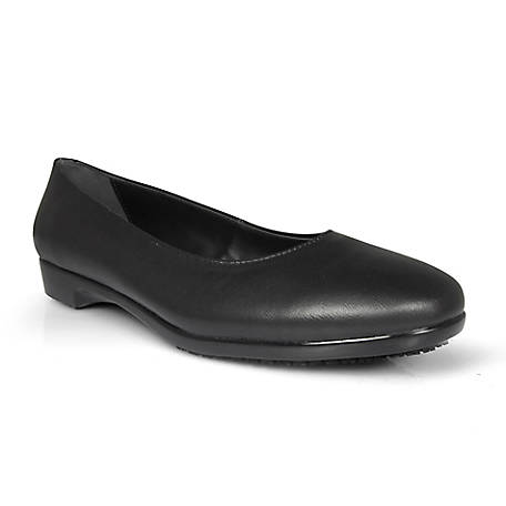 Genuine Grip Women's #8300 Slip-Resistant Leather Dress Shoes