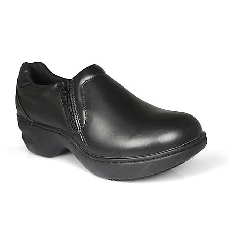 Genuine Grip Women's #465 Slip-Resistant Slip on Work Shoes