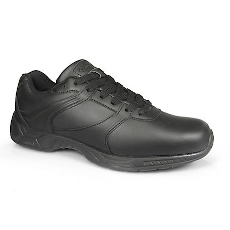 Genuine Grip Men's #1030 Athletic Plain Toe Work Shoe