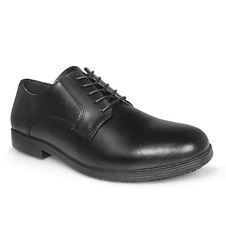 Genuine Grip Women's #940 Black Slip-Resistant Oxford Dress Shoe