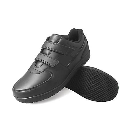 Genuine Grip Men's #2030 Slip-Resistant Velcro Work Shoe