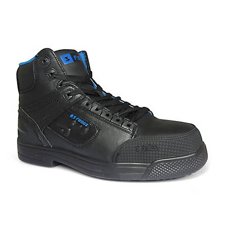 S Fellas by Genuine Grip Men's #5013 Composite Toe Stealth Work Boot