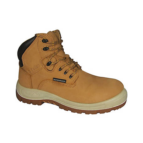 S Fellas by Genuine Grip Men's #6061 Poseidon Soft Toe Waterproof 6 in. Hiker Work Boot