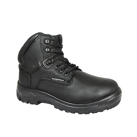S Fellas by Genuine Grip Women's #662 Poseidon Soft Toe Waterproof 6 in. Hiker Work Boot