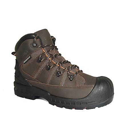 S Fellas by Genuine Grip Men's 6300 Trekker Composite Toe Puncture Resistant Work Boot