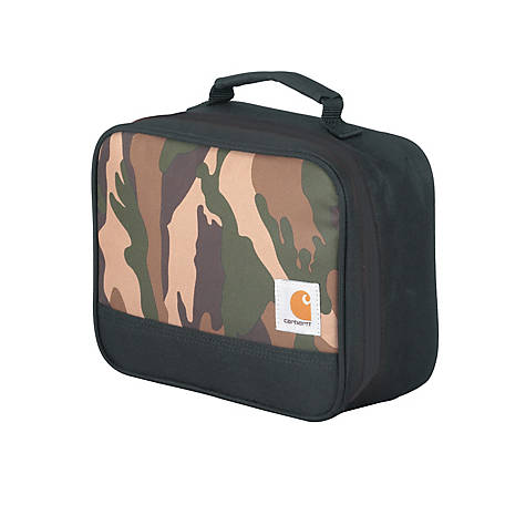 Carhartt Insulated Soft-Sided Lunchbox, Iconic Brown