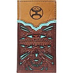 Hooey Brands Signature Leather Junior Rodeo Wallet