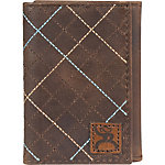 Hooey Brands Roughy Signature Trifold Wallet
