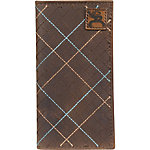 Hooey Brands Roughy Signature Leather Junior Rodeo Wallet