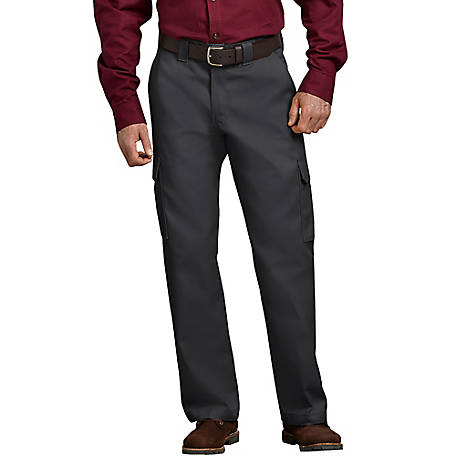 Dickies Men's Relaxed Fit Straight Leg Cargo Work Pant