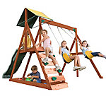 KidKraft Sunview II Wooden Swing Set