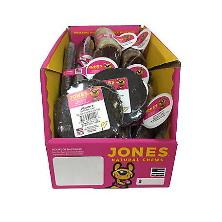 Jones Natural Chews Co. Bulk $1 Bones Assortment