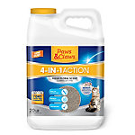 Paws & Claws 4-in-1 Fresh Floral Scented Clumping Cat Litter, 20 lb. Jug