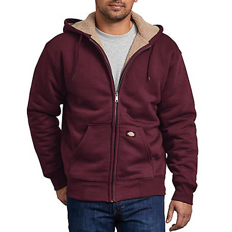 f0869376 Dickies Men's Sherpa Lined Fleece Hoodie
