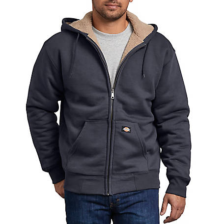 Dickies Men's Sherpa Lined Fleece Hoodie