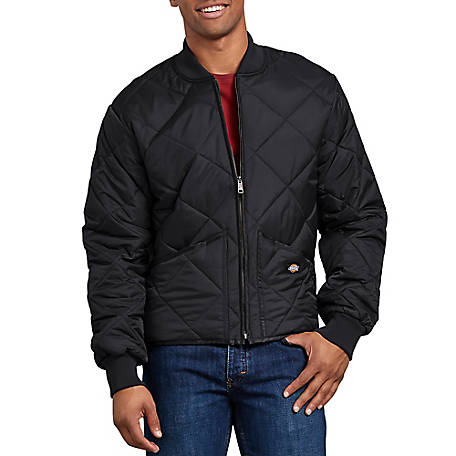 Dickies Men's Diamond Quilted Nylon Jacket