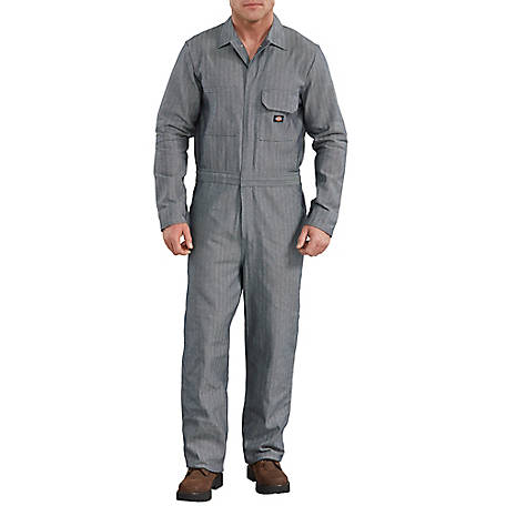 Dickies Men's Fisher Stripe Cotton Coverall