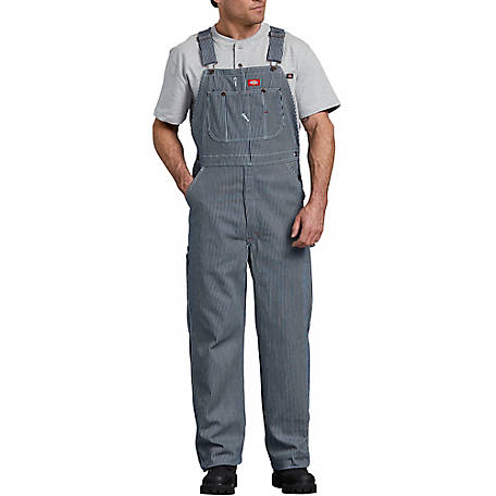 Dickies Men's Hickory Stripe Bib Overall
