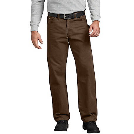 Dickies Men's Relaxed Fit Straight Leg Carpenter Duck Jean