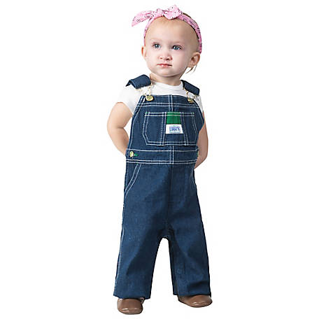 Liberty Infant Denim Bib Overalls
