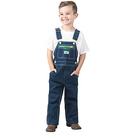 Liberty Boys' Washed Denim Bib Overall