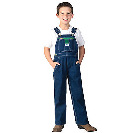 Liberty Boys' Youth Boy's Denim Bib Overalls