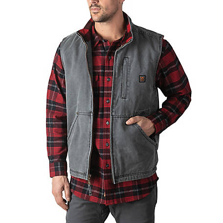 Walls Men's Pecos Worn-In Duck Work Vest
