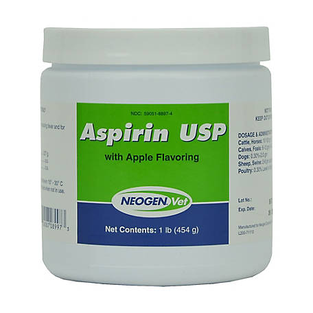 Neogen Aspirin Powder With Apple Flavor, 1 lb., 08897-19
