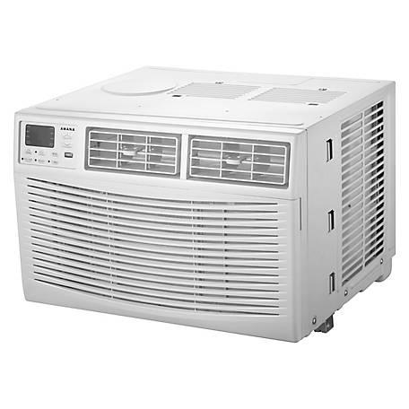 Amana 8,000 BTU 115V Window-Mounted Air Conditioner with Remote Control
