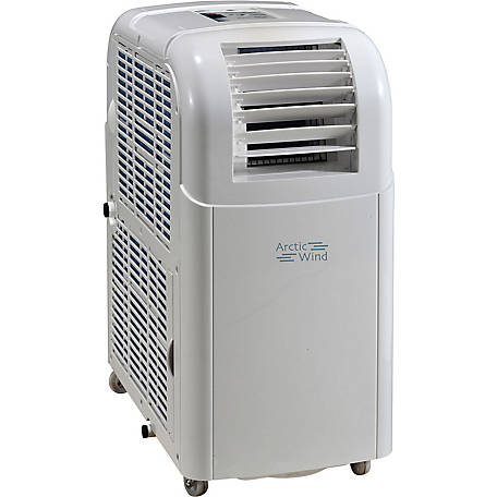 Arctic Wind Portable Air Conditioner with Remote Control for Rooms up to 150 Sq. ft.