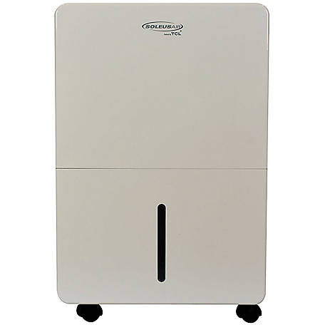 Soleus Air 30 Pt. Portable Dehumidifier, White/Gray