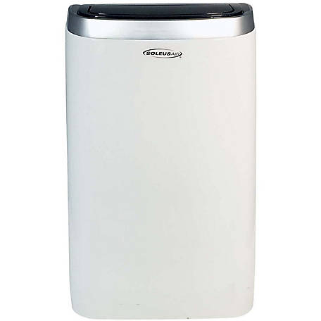Soleus Air 14,000 BTU Portable Air Conditioner with 11,000 BTU Supplemental Heat and MyTemp Remote Control