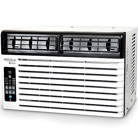 Soleus Air Energy Star 8,500 BTU 115V Window-Mounted Air Conditioner with LCD Remote Control