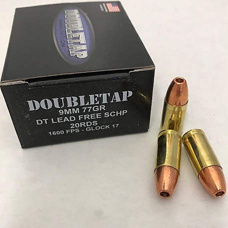 DT 9mm 77GR DT Lead Free SCHP, 9MM77X