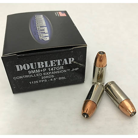 DT 9mm +P 147GR Controlled Expansion JHP, 9MM147CE