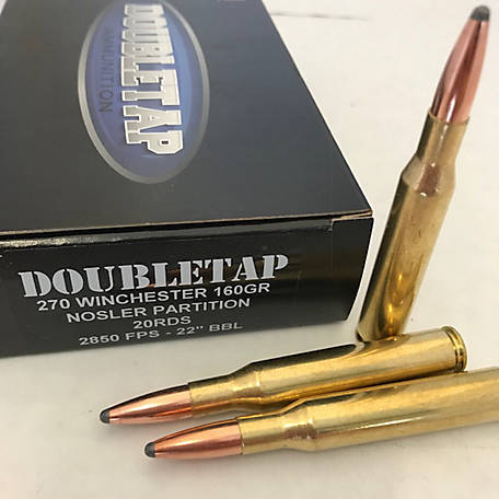 DT 270 Win 160GR Nosler Partition, 270W160P