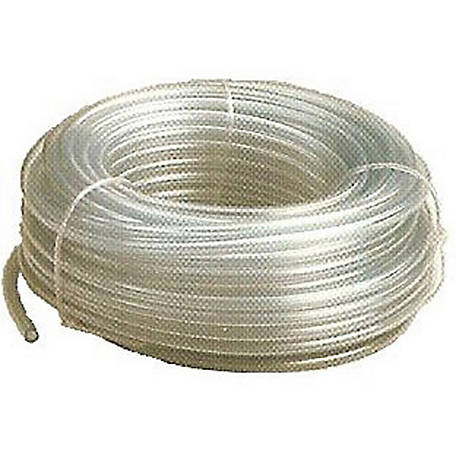 Peach Teats Grade-A PVC Tube, 100 ft.