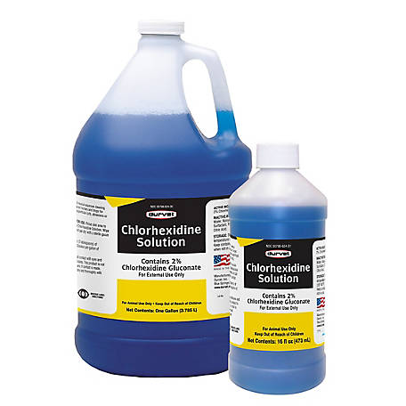 Durvet Chlorhexidine Solution 2%, 59297