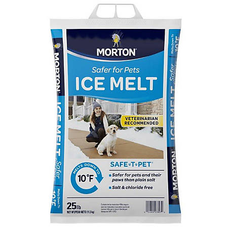 Morton Salt Safe T Pet 25 lb.