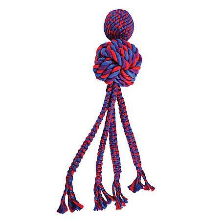 KONG Wubba Weave Dog Toy, WVRX
