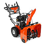 Husqvarna ST224P 24 in. 208cc Two-Stage Gas Snow Blower with Power Steering and Electric Start, 961930122