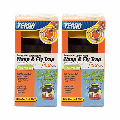 Terro Wasp & Fly Trap Plus Fruit Fly, T514