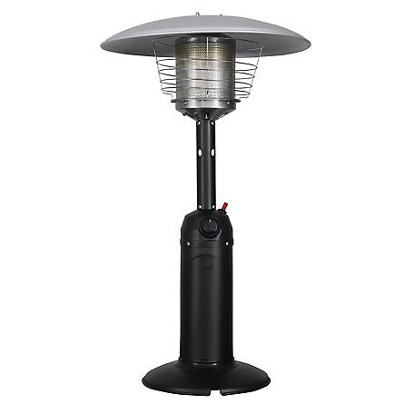 Homcomfort Table Top Patio Heater Mocha At Tractor Supply Co