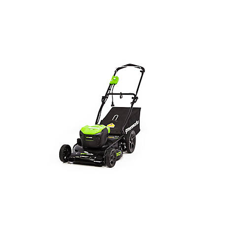 Greenworks 12 Amp 20 in. Brushed Mower-MO12B00