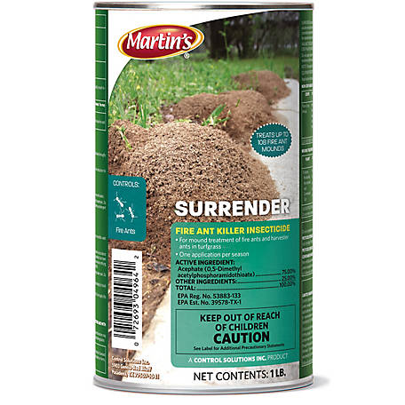 Martin's Surrender Fire Ant Killer 1, 82004964